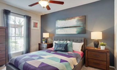 Bedroom at Listing #138587
