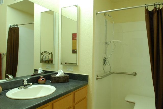 Bathroom at Listing #256682