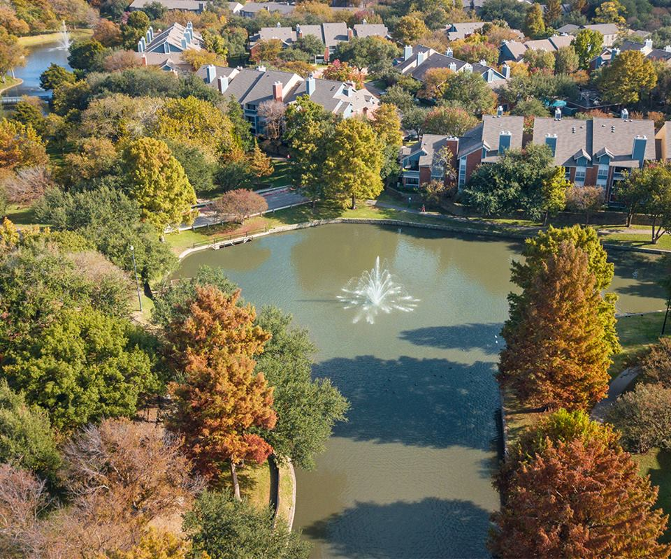 Aerial View at Listing #136691