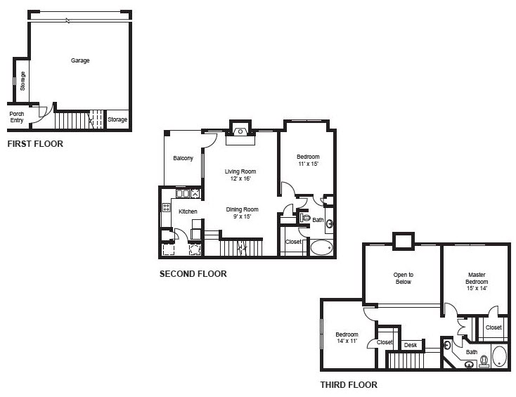 1,513 sq. ft. C2-Garage(2) floor plan