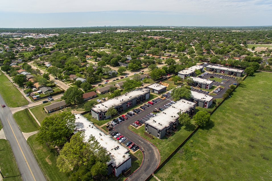 Aerial View at Listing #136250