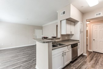 Living/Kitchen at Listing #138831