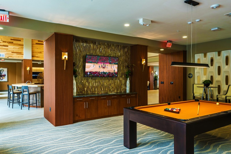 Gameroom at Listing #276673