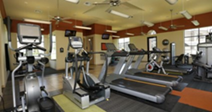 Fitness Room at Listing #150840