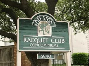 Preston Racquet Club Apartments Dallas TX