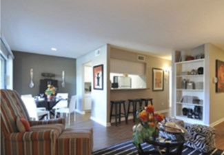 Living Area at Listing #139924