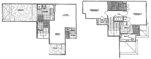 1,255 sq. ft. to 1,321 sq. ft. floor plan