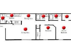 1,007 sq. ft. Willow floor plan