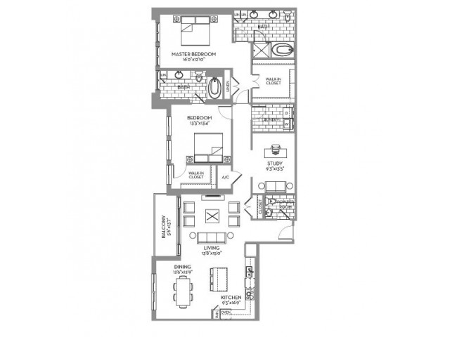 1,942 sq. ft. Preston(B.8) floor plan