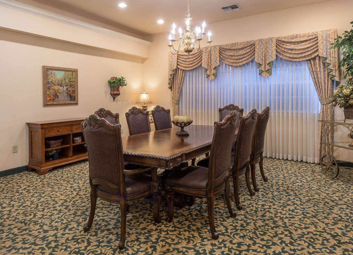 Private Dining Room at Listing #144600