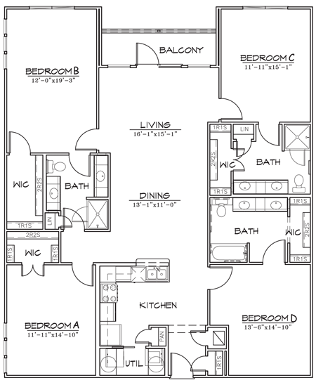 1,924 sq. ft. floor plan