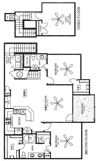 1,582 sq. ft. Hacienda Grande/G floor plan