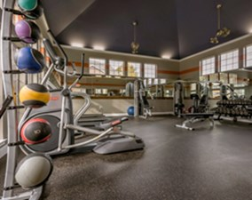 fitness center at Listing #144043