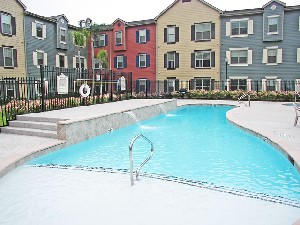 Pool Area at Listing #144397