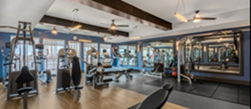 fitness center at Listing #149070