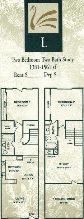 1,381 sq. ft. floor plan
