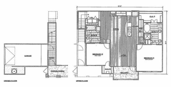 1,289 sq. ft. C5Montgomery floor plan