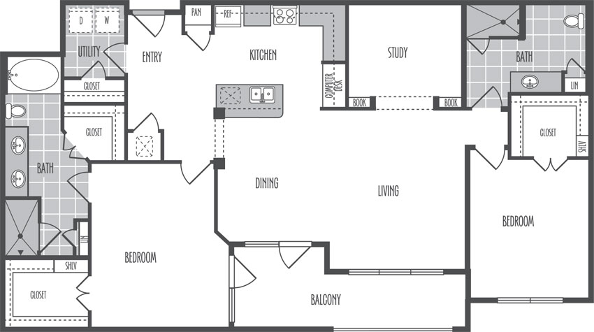 1,478 sq. ft. M floor plan