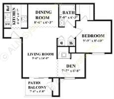 788 sq. ft. A5 floor plan