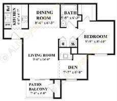 788 sq. ft. A5 floor plan