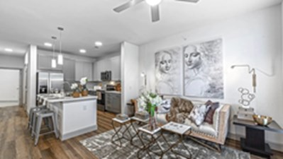 Living/Kitchen at Listing #336109