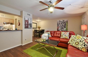 Living/Dining at Listing #144226