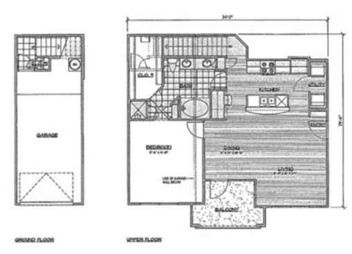 940 sq. ft. A4/Palmetto floor plan