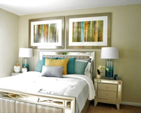 Bedroom at Listing #139956