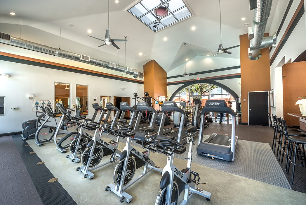 Fitness Center at Listing #137973