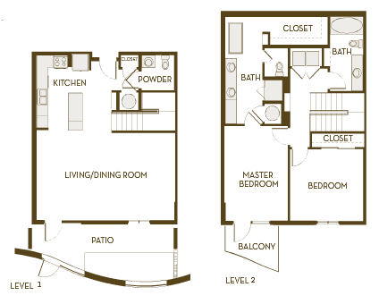 1,687 sq. ft. B2.5ATH floor plan