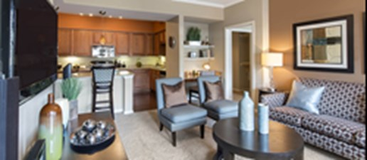 Living/Kitchen at Listing #145128
