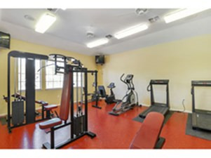 Fitness Center at Listing #140105