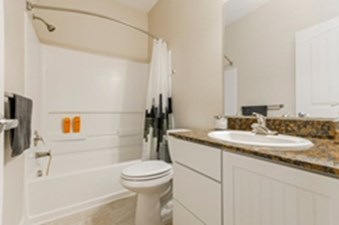 Bathroom at Listing #143944