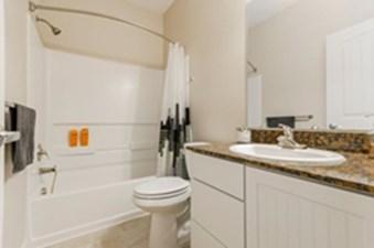 Bathroom at Listing #143944