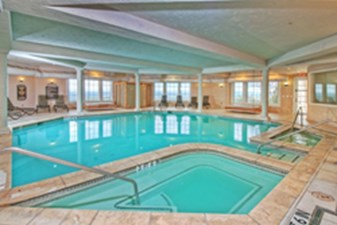 Indoor Pool at Listing #140694