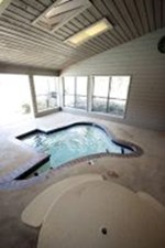 Hot Tub at Listing #136878