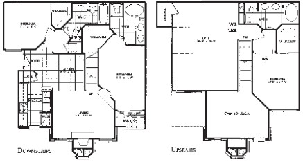 1,756 sq. ft. C1 floor plan
