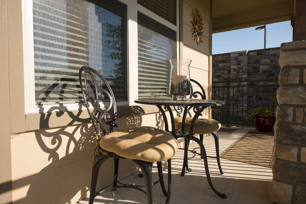 Patio at Listing #282972