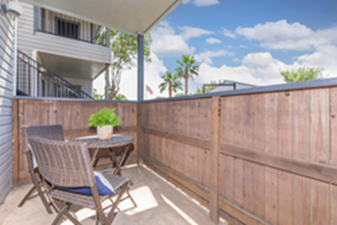 Patio at Listing #139368