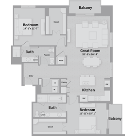 1,725 sq. ft. E5 floor plan