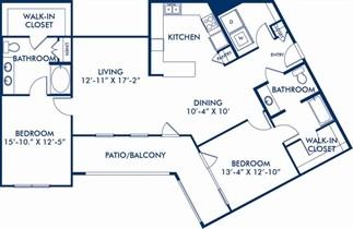 1,469 sq. ft. Lucasso floor plan