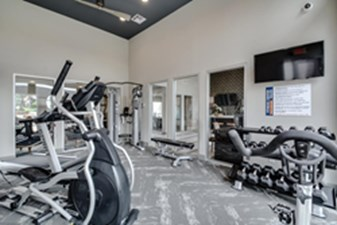 Fitness Center at Listing #136328