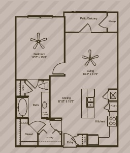 800 sq. ft. View floor plan