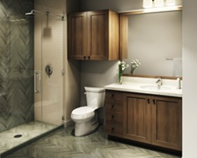Bathroom at Listing #299815