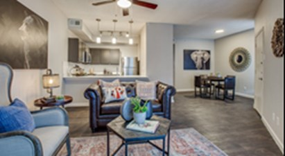 Living Area at Listing #136883