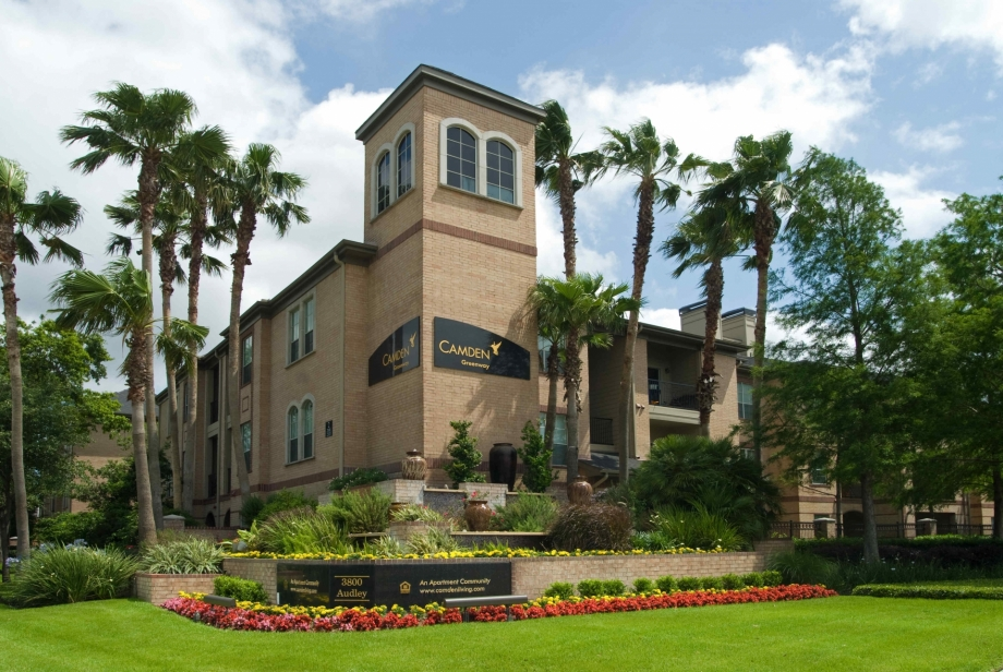 Camden Greenway Apartments Houston TX