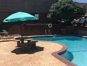 Pool at Listing #144884