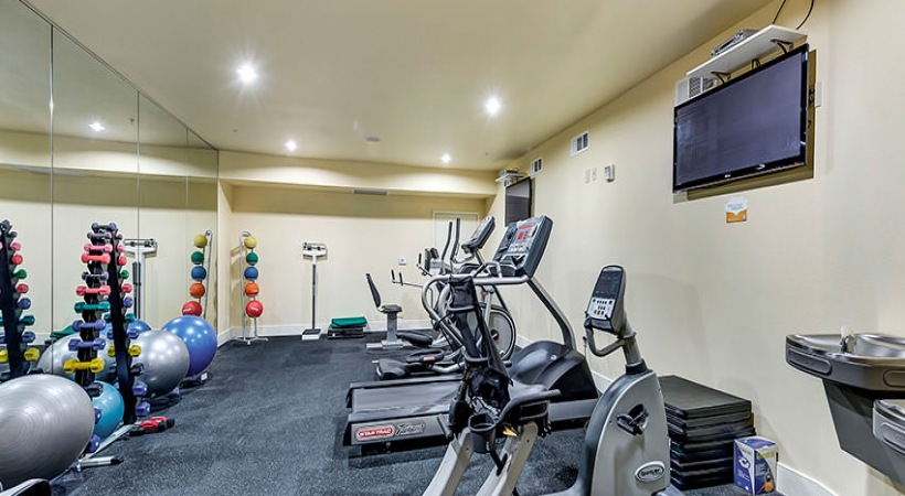 Fitness Center at Listing #226278