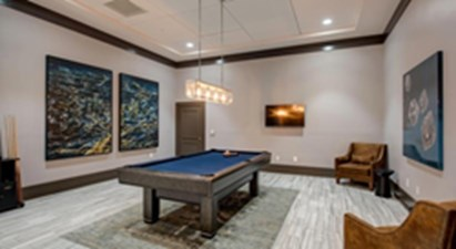 Gameroom at Listing #144174