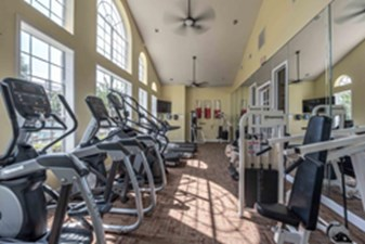 Fitness Center at Listing #144181